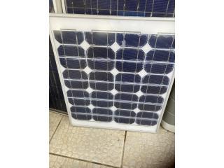 Panel solar 50 watts, Puerto Rico