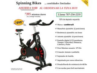 Spinning Bike - Bicicleta Estacionaria NUEVA, Puerto Rico