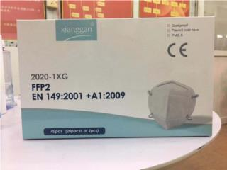 Mascarillas KN95 con # de CE impreso , Puerto Rico