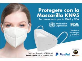 Mascarillas KN95 200 x $55, Puerto Rico