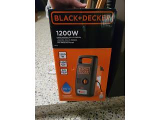 Nueva Máquina de presión Black+Decker, Puerto Rico