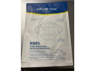 Mascarillas KN95 uso medico y en hospitales, Puerto Rico