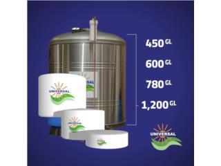 Cisterna de agua ¡Nueva!, Puerto Rico