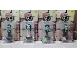 The Munsters little big heads Action figures, Puerto Rico