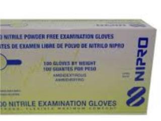 Guantes nitrilos 200 paquete, Puerto Rico