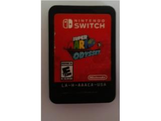 Juego Super Mario Odyssey Nintendo Switch, Puerto Rico
