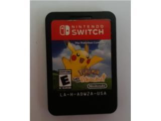 Juego Nintendo Switch Pokemon Pikachu, Puerto Rico