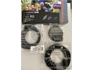Filters and Lens Hood Kit - 58mm, Puerto Rico