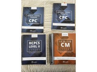 Libros de codificación ICD 10, HCPCS 2020, Puerto Rico