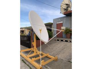 Antena satélite usada , Puerto Rico