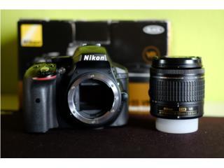 Nikon D5300 24.2MP Digital SLR Camera + AF-P , Puerto Rico