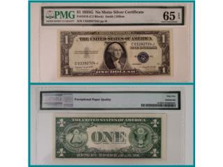 VENDO BILLETE DE $1.00 DE 1934, PMG 65 , Puerto Rico