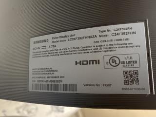 """Monitor Samsung 24"""" Curve como nuevo, Puerto Rico"""