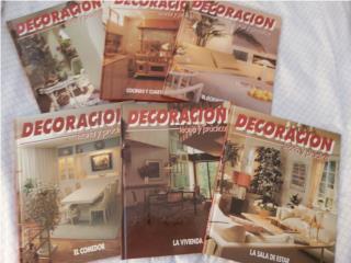 Libros de decoración en buen estado $20, Puerto Rico