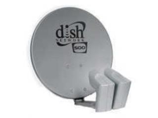 Antena dish network con 2 lnb y dp, Puerto Rico