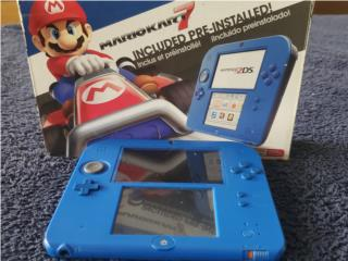 Nintendo 2ds Mariokart7, Puerto Rico