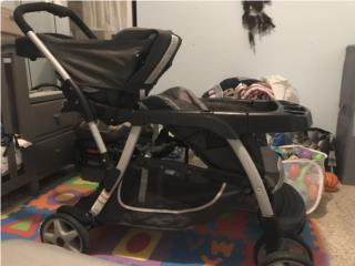 Coche Graco doble para bebés gemelos, Puerto Rico