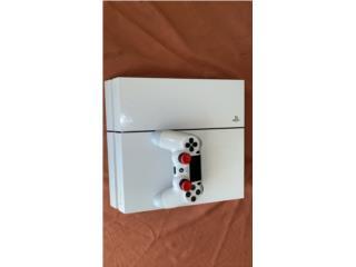Playstation 4 White 500GB, Puerto Rico