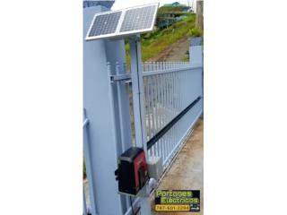 Porton electrico solar, Puerto Rico