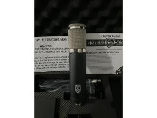 Micrófono Lauten Audio 320 con tubo integrado, Puerto Rico