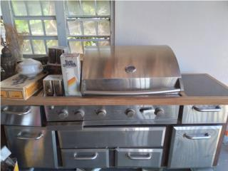 Grill Industrial Stainless Steel , Puerto Rico