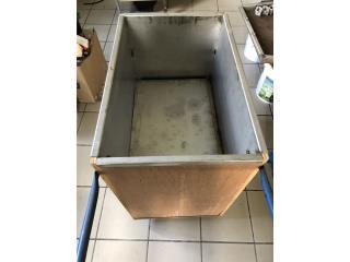 Venta de asador tipo caja china en stainless , Puerto Rico