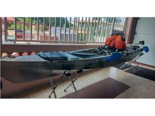 Kayak Jackson Kraken 13.5, Remo y Salvavida., Puerto Rico