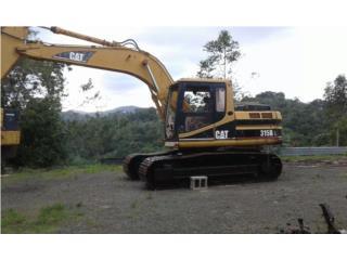 Excavadora 315B, Equipo Construccion Puerto Rico