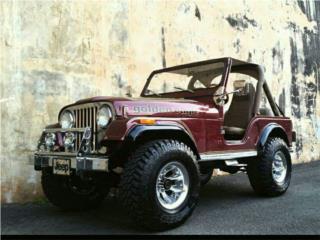 Jeep wrangler 1981 standar 8 cilindros, Jeep Puerto Rico