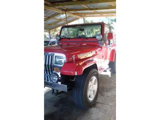 Jeep Wrangler 1989 4x4 , Jeep Puerto Rico