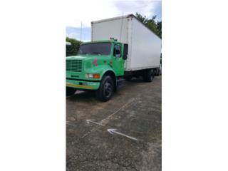 Camión 1999 motor DT466E rampa 20' , International Puerto Rico