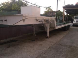 Plataforma con rampa hidraulica, winche , Equipo Construccion Puerto Rico