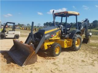 2012 John Deere 310J $56,500, Equipo Construccion Puerto Rico