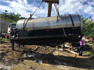 Tanques  para diesel , Equipo Construccion Puerto Rico