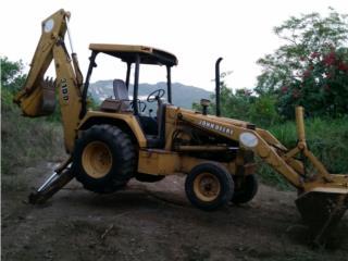 Digger John Deere 310D, Equipo Construccion Puerto Rico