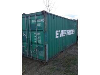cajas 20' 40' , Equipo Construccion Puerto Rico