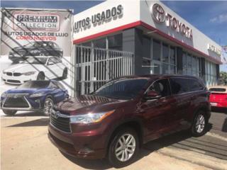 Toyota Highlander LE, Toyota Puerto Rico