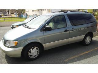 TOYOTA SIENNA 1999 $2,800, Toyota Puerto Rico