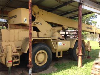 Se vende Grua Koering-Lorain RT-180A, Equipo Construccion Puerto Rico