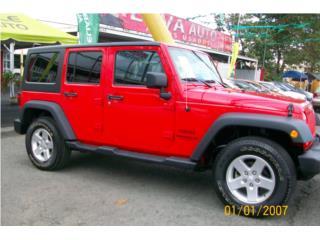 WRANGLER 4X4 SOLO 18 K FIN.DESDE 1.99 APR, Jeep Puerto Rico