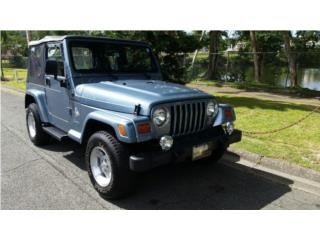 Jeep Wrangler 1998 Automatico 4 cilindros, Jeep Puerto Rico
