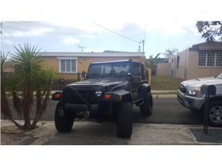 Wrangler Sahara 99, Jeep Puerto Rico