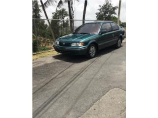 Toyota Tercel 99', Toyota Puerto Rico