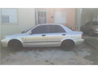 Mazda protege 2002, Toyota Puerto Rico