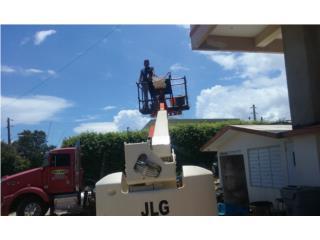 LIFT BOOM JLG, Equipo Construccion Puerto Rico