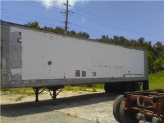 Van aluminio 45-pies , Equipo Construccion Puerto Rico