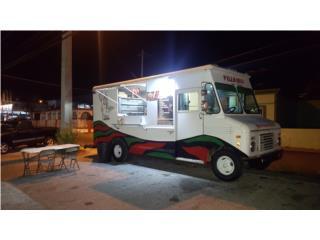 Food truck de pizza, Ford Puerto Rico