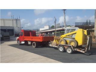 DUMPTRUCK & BOBCAT SERVICES BASURA ESCOMBROS, Equipo Construccion Puerto Rico