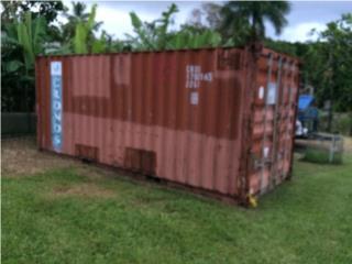 Vagon de 20' acero, Equipo Construccion Puerto Rico
