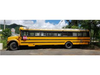 Se cambia guagua escolar x pick up ó van, International Puerto Rico